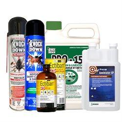 Insecticides commerciaux