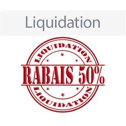 Liquidation 50% de rabais