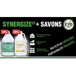 Promo Synergize & nettoyants EVO