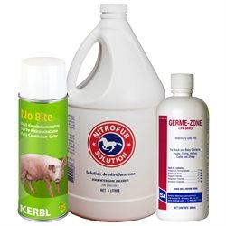 Produits vétérinaires et soin des plaies