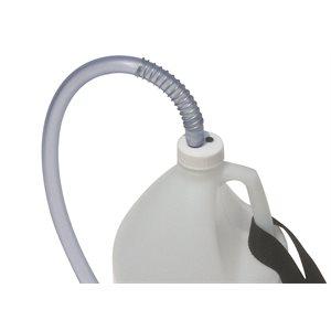 Bouchon ventilé avec tube plongeur 38 mm pour contenant 4 L