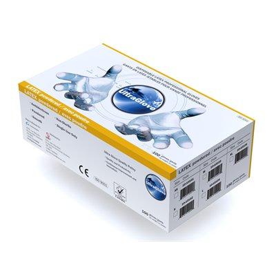 Gants Latex Lisse avec poudre UltraGlove, L bte / 100