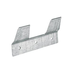 Metal bracket for plastic calf bucket