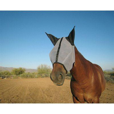 Masque anti-mouches Horse Sense avec oreilles Cheval
