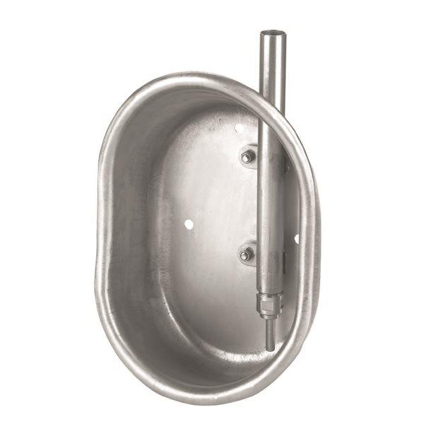 Abreuvoir inox pour porcs d'engraissement (19 x 27 x 11 cm)
