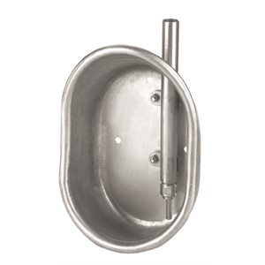 Water cup finish hog stainless (19 x 27 x 11 cm)