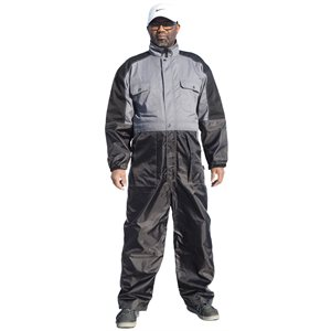 Milker's overall grey / black
