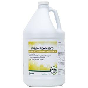 Farm-Foam EVO nettoyant alcalin moussant et détartant