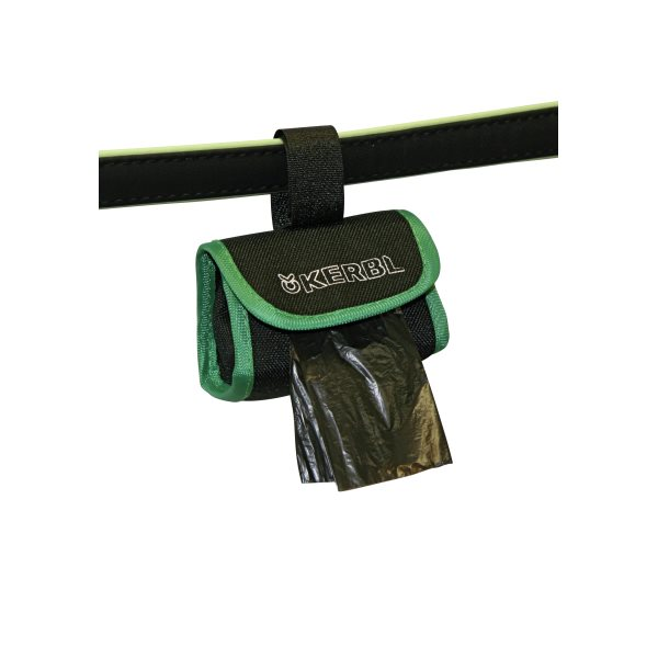 Clean-up bag pouch dispenser