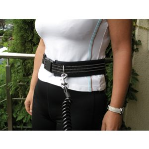 Active Leader Spiral Leash with Waist Belt