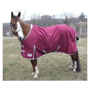"HS rain sheet blanket 600D, 84"" cranberry"