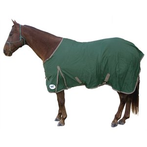 HS cotton sheet 84'' hunter green