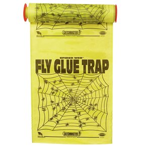 Pro Series Spider Web glue trap double-sided 12in x 23ft