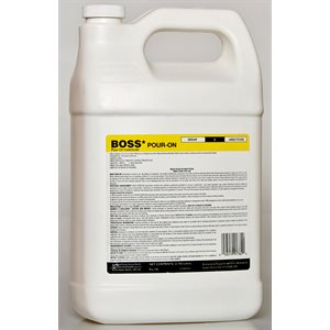 BOSS Pour-On RTU Liquid Insecticide 3.785 L