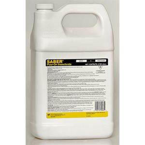 SABER Insecticide liquide Pour-On RTU 3,785 L