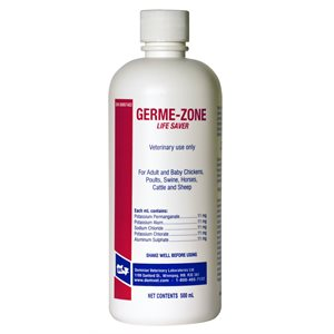 Solution antiseptique Germe-Zone 500 ml