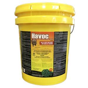 HAVOC Anti-rongeurs sachets d'appâts emb / 80 (2 x 50g) 8kg