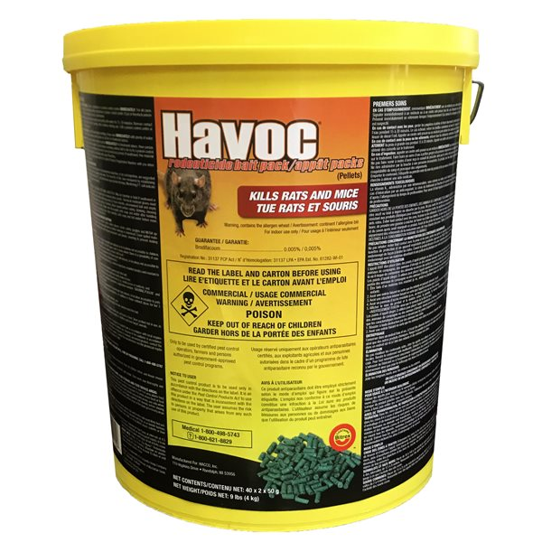 HAVOC Rodent Control Bait Packs