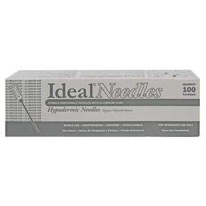 IDEAL disposable AH needles box / 100