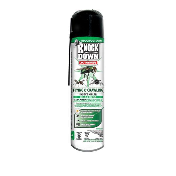 Knock Down X-Max insectes volants & rampants aérosol 454 g