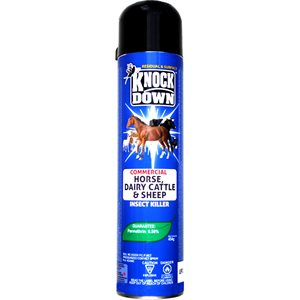 Knock Down insecticides cheval bovin laitiers & moutons 525g