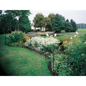 Clôture à jardin avec enduit de vinyle LG