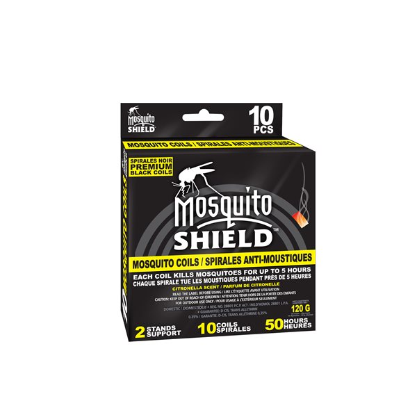 Spirale anti-moustiques Mosquito Shield boîte (10 X 12g)