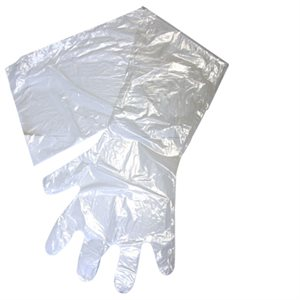 IDEAL OB / AI gloves clear, 1.25 mil. Box / 100