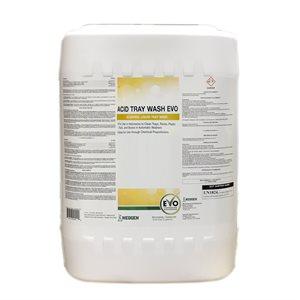 Acid Tray Wash EVO lave-plateau liquide acidifié 18.9 L