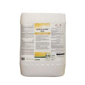 Acid-A-Foam EVO nettoyant et détartant 18.9 L