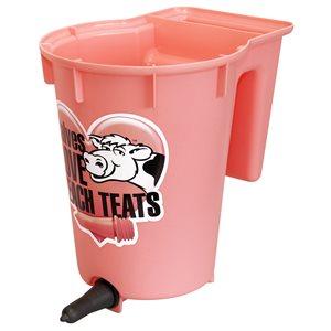 PEACH teat single calf bucket 8 L