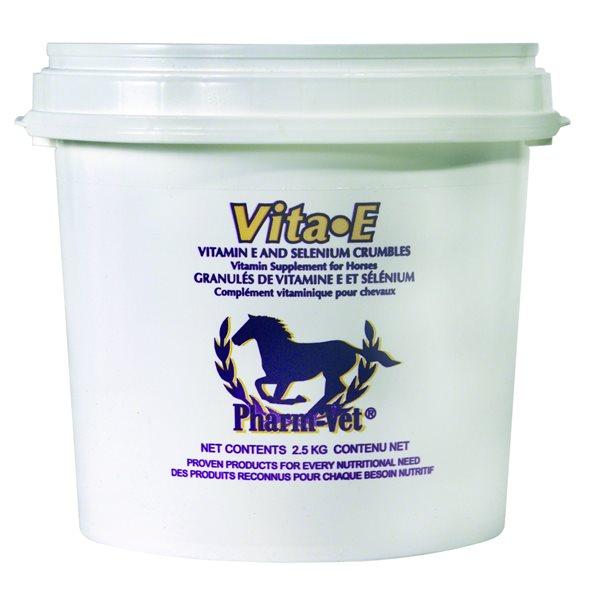 Granulés vitamines E et sélénium Vita-E 2.5 kg