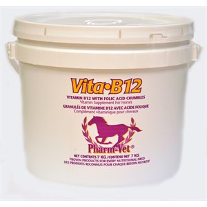 Granulés vitamines B12 & acide folique 7 kg