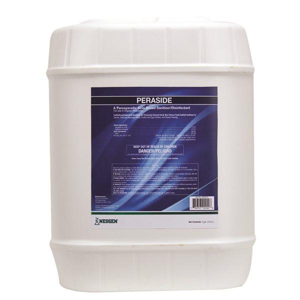 PERASIDE désinfectant nettoyeur large spectre 18.9 L