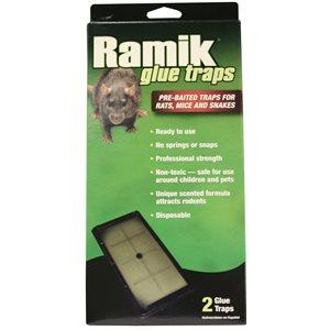 RAMIK Piège collant pour rats emb / 2
