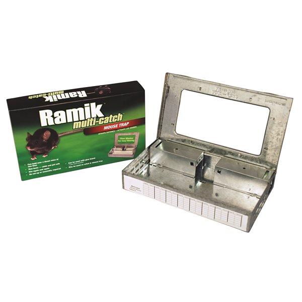 RAMIK Trappe à souris multi-catch