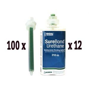 SureBond combo pak: 12 tubes 210cc & 100 tips