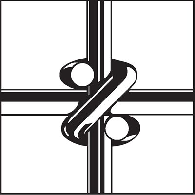 Clôture pour bétail avec nœuds Square Deal