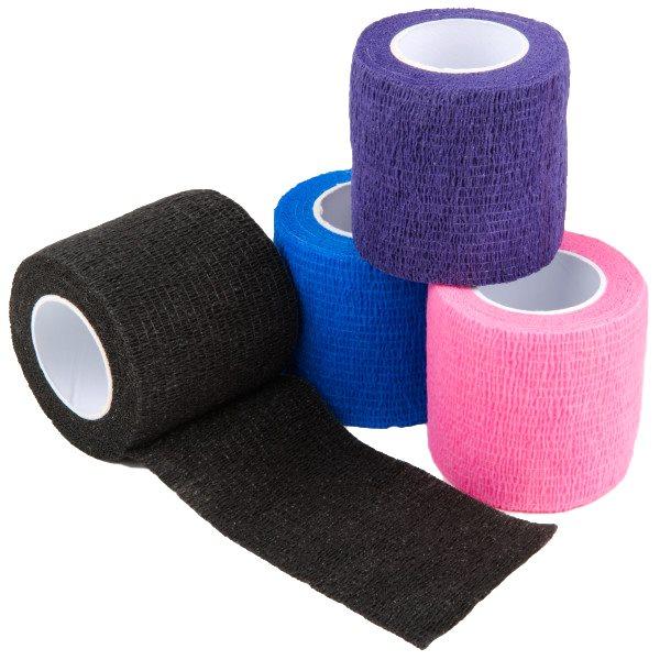SyrFlex cohesive bandages 2'' Blue box / 36