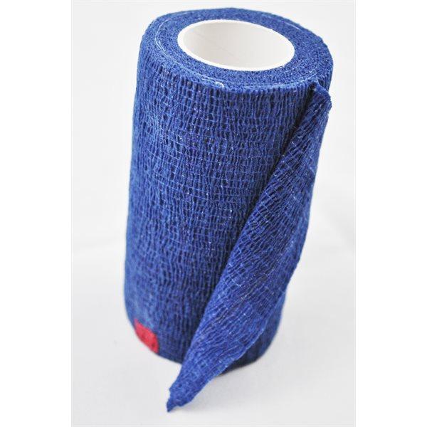 Bandages cohésifs SyrFlex 4'' bleu bte / 18