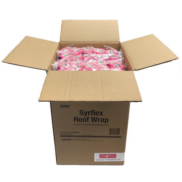 SyrFlex Bandages à sabot 4'' rose bte / 100
