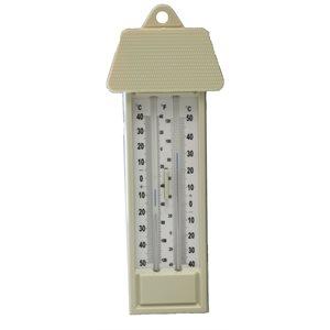 Minimum / maximum thermometer scale ºC