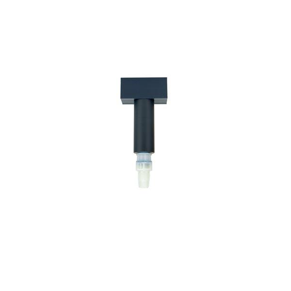 T en PVC double injection pour système standard