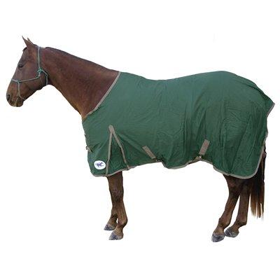HS cotton sheet 69'' hunter green